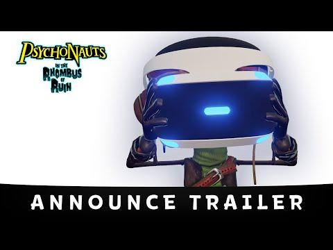 Psychonauts in the Rhombus of Ruin Annoucement Trailer