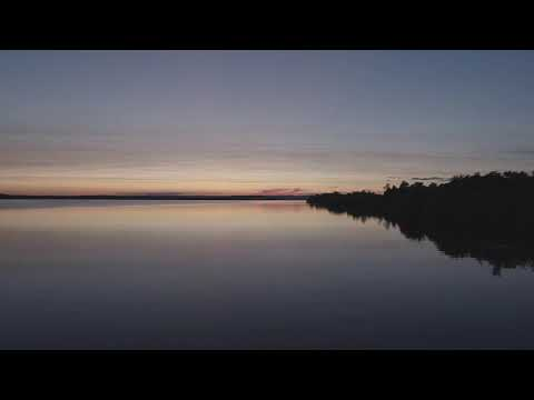 Sunset on Wisconsin Point - Superior, WI - The Night Falling