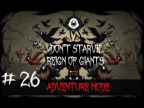 Don't Starve Reign of Giants(Adventure Mode) #26 Archipelago!!