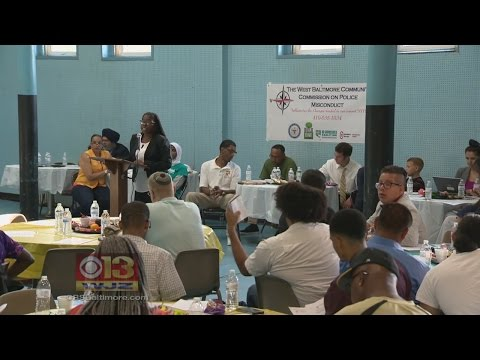Dept. Of Justice Meets With Residents In West Baltimore