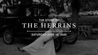 Herrin Wedding Video 2020