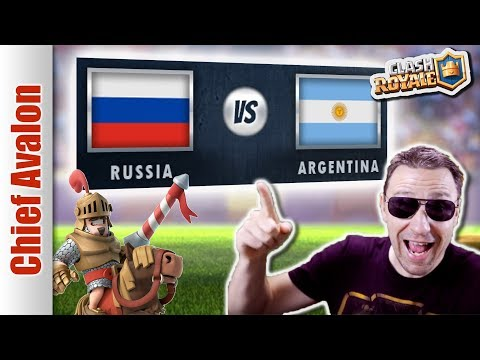 MGL WORLDS TOP 32: RUSSIA vs ARGENTINA - Clash Royale eSports