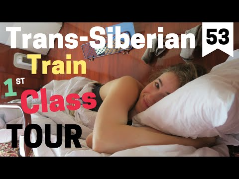 Trans-Siberian Train: First Class Wagon Tour