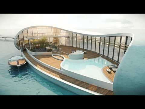 New living on water   - exclusive, architectural high-standard, luxurious floating residence