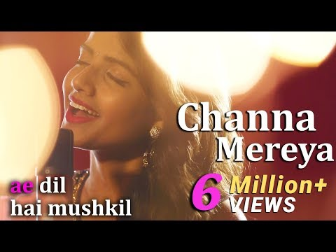 Channa Mereya - Female Cover Version by @VoiceOfRitu | Ae Dil Hai Mushkil | Karan Johar
