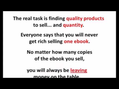 Resell Products Monthly:  Make HUge Profit Reselling Ebook +$1500 Monthly!!!