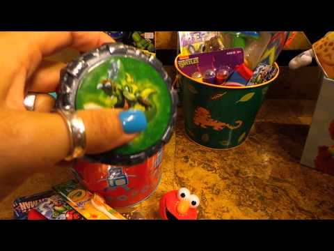 What's in the Kids Easter Baskets 2014