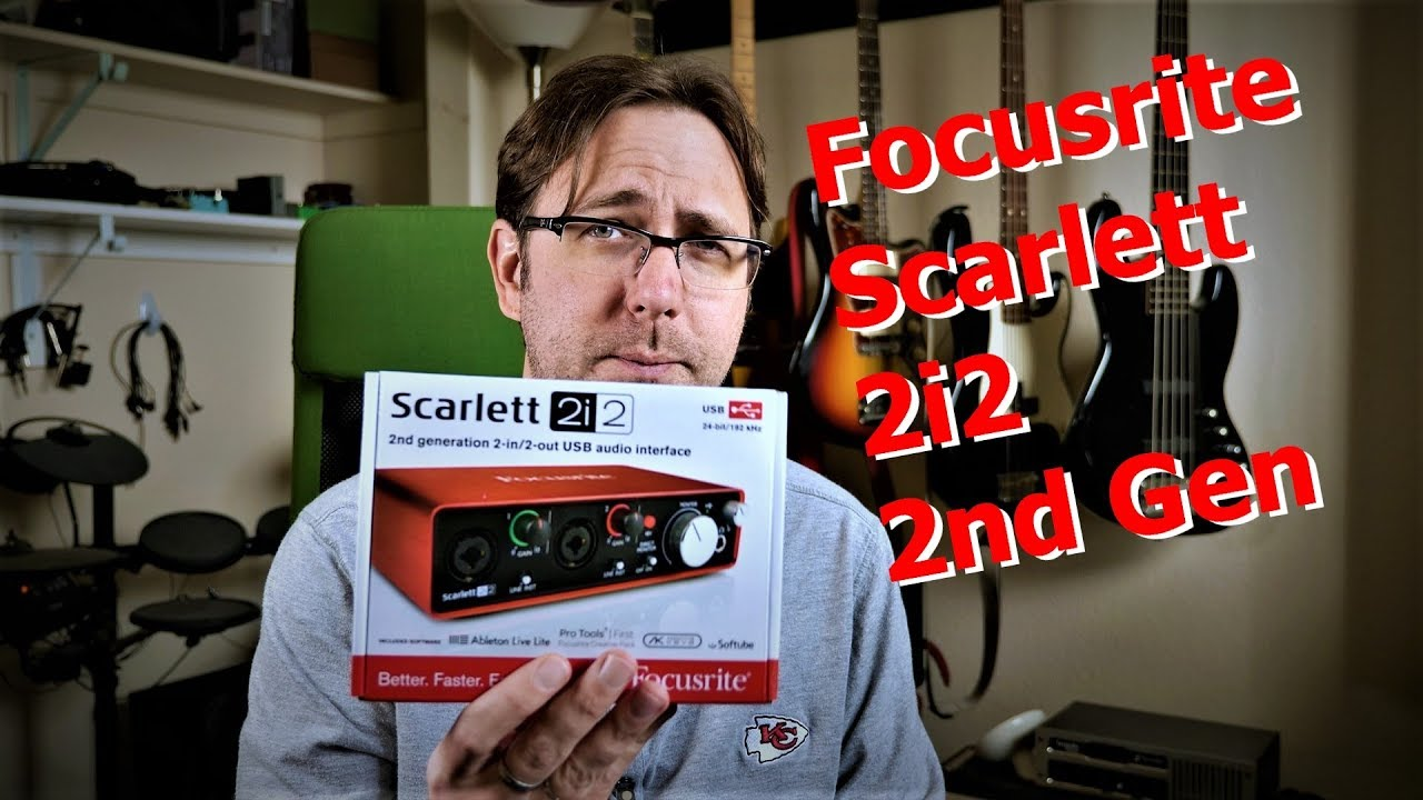 DOWNLOAD FOCUSRITE SCARLETT 2I2 2ND GEN DRIVER