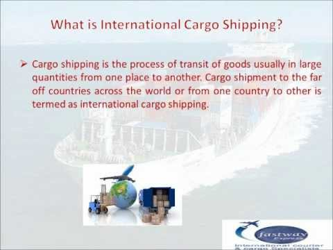 International Cargo Shipping -- How to Choose Cargo Shipping Company?