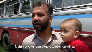 Ahmadi Muslim refugees flee Sri Lankan town in panic after blasts