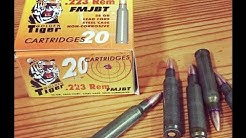 .223 Remington, 55gr FMJ, Golden Tiger, Velocity Test, Redeemed?