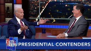 Joe Biden Thinks Stephen Is Jimmy Kimmel, Bloomberg Takes A Big Gulp And Mayor Pete Wins Iowa