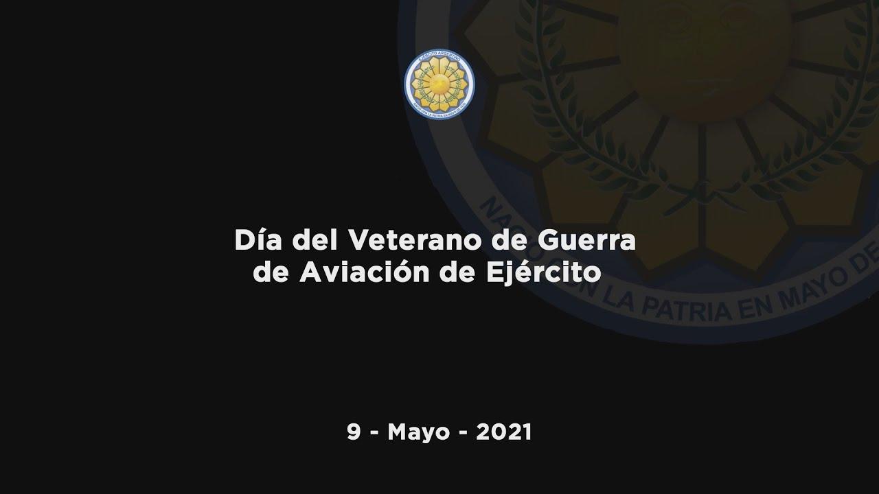 9 de mayo 2021 -  Día del Veterano de Guerra de Aviación de Ejército