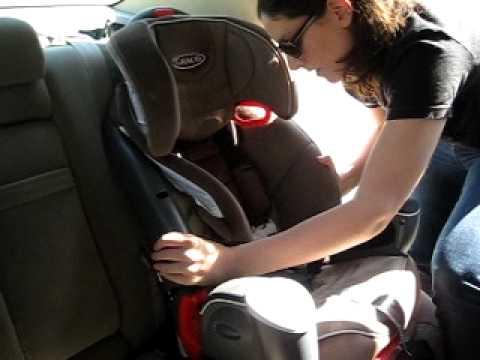 Installing a Forward Facing Car Seat (w/ LATCH) - YouTube