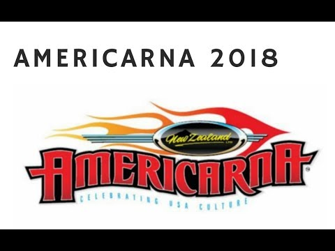 AmeriCARna 2018 Classic Cars Show Hawera New Plymouth Taranaki  New Zealand vlog