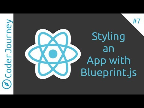 How To Style a React Application with Blueprint js