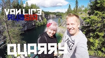 Road trip RUSSIA |Ugly Pitkäranta? |Ruskeala QUARRY
