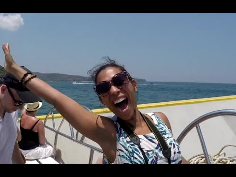 She Photo bombed my Koh Phi Phi Island Trip V107