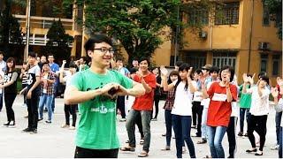 Flashmob tỏ tình của nam sinh viên Bách Khoa