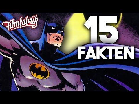 BATMAN - 15 krasse Fakten über BATMAN & die Comics! - AbgeFakt