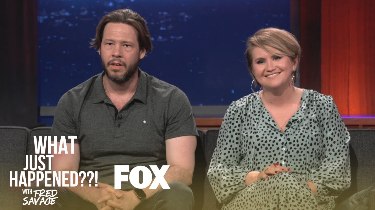 Download Ike Barinholtz & Jillian Bell Stop By | Season 1 Ep. 8 | WHAT JUST HAPPENED??! WITH FRED SAVAGE
