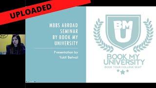 Yukti Belwal Webinar Uploaded | MBBS Abroad