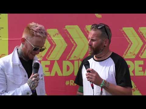Frank Carter Interview Reading Festival 2017