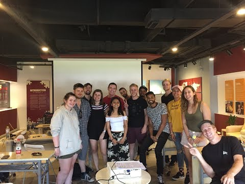 Teach China Graduate Program, 2017- Akshay and Anna's first few weeks