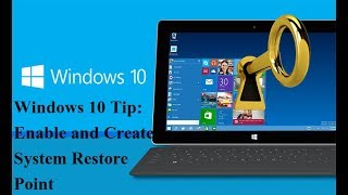 Windows 10 Tip: Enable and Create a System Restore Point (Updated)