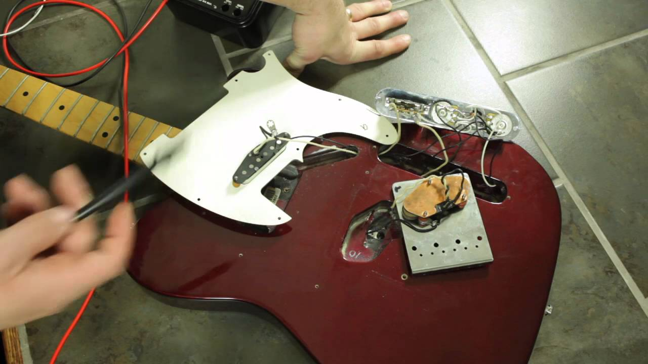 small resolution of killing the hum in a guitar youtube guitar pickup wiring noise