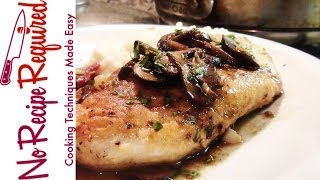 Chicken Marsala Recipe - Noreciperequired.com