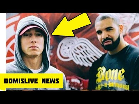 DRAKE and EMINEM Performs in Detroit, Drake Called EM The Greatest Rapper to Ever Touch a Microphone
