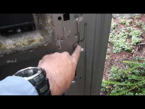 Ford van door latches... how they are actuated/how they are installed