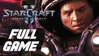 Starcraft II: Wings of Liberty PC Longplay Walkthrough Playthrough (FULL GAME)