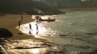 Someshwara Beach. Early morning view.