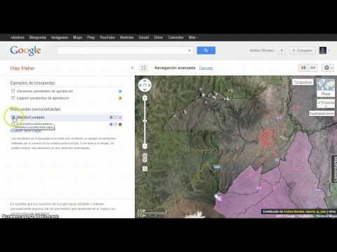 Añadiendo fronteras políticas de Ecuador en Google Map Maker