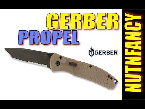 Gerber Propel Auto fails to lock open on camera