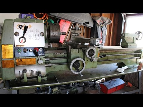 "Grizzly Gunsmithing Metal Lathe 12X37"" DF-1237G Overview WIth VFD!"