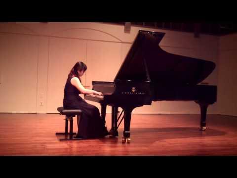 Beethoven Piano Sonata op 110 mvt I, Chia-Ying Chan, Piano