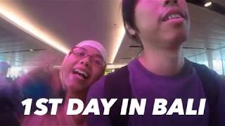 1st time travel with my wife in Bali