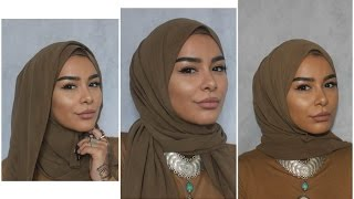 One of Habiba Da Silva's most viewed videos: 3 Easy Chiffon Hijab Styles