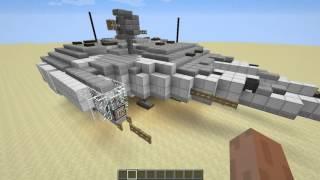 Постройки Star Wars в Minecraft от Энтони/ Сокол тысячелетия Скачать в HD