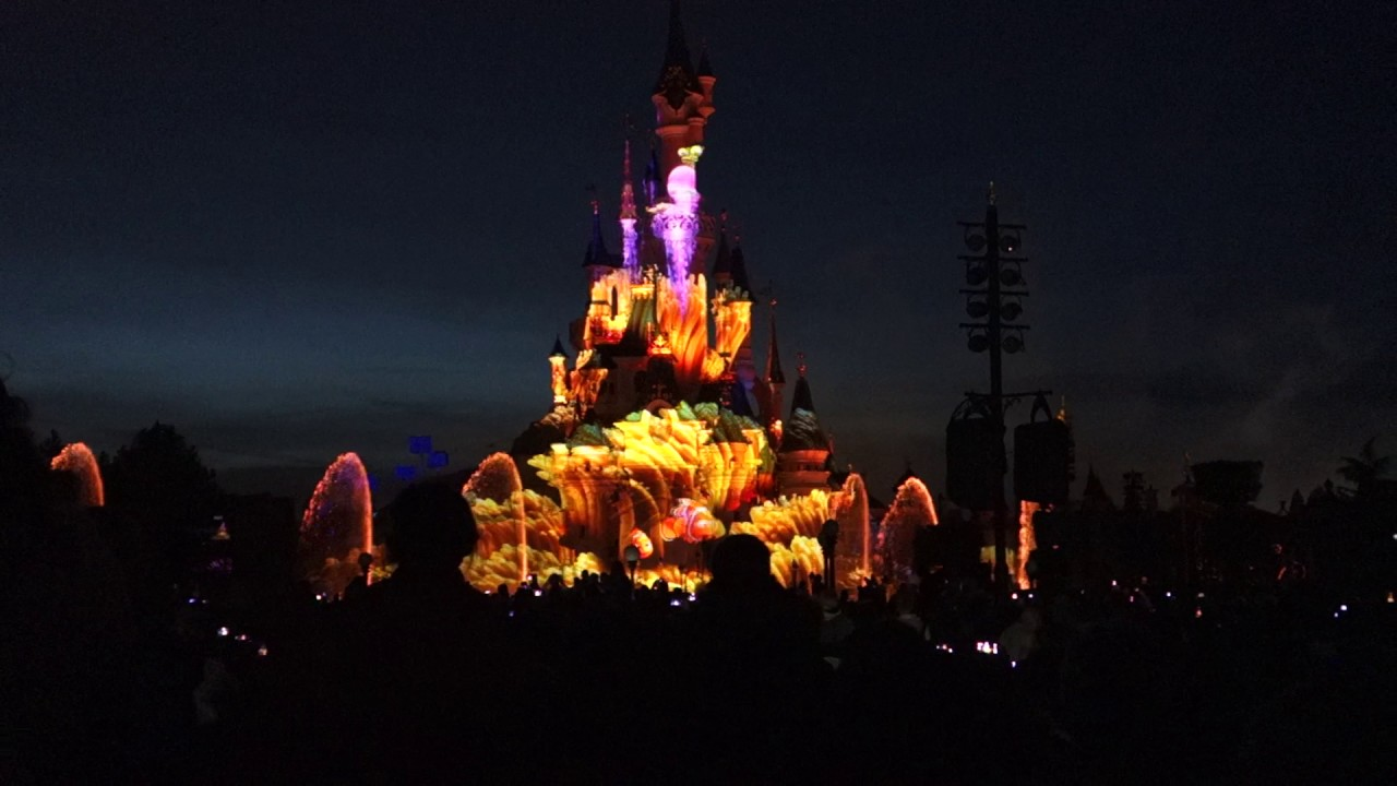 Illuminations de disneyland paris 2017 youtube - Illumination de paris ...