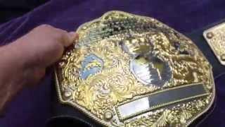 Olw2k Dual Plated Big Gold Belt By Fandu