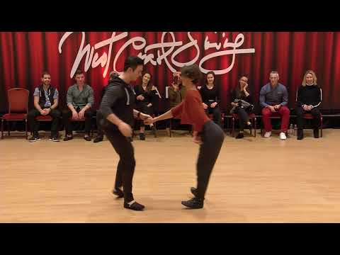 "Jordan Frisbee & Emeline Rochefeuille - Champions Jack&Jill - Budafest 2020 ""Macarena"""
