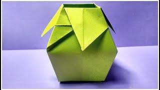 Origami Vase Easy Tutorial
