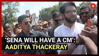 'Sena will have a CM': Aaditya Thackeray