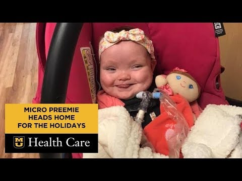 Heath West - Micro Preemie Home For Christmas After 268 Days In NICU