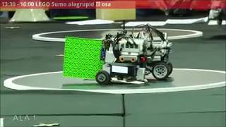LEGO Sumo - Robotex 2017 - ITLUG Robotics Team - ITALY