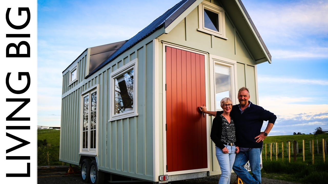 Couple Build Tiny House To Live Big In Retirement Youtube